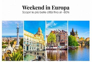 Amsterdam, Praga, Londra, Budapest e… fino al -80% di sconto!