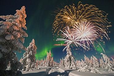 Capodanno 2020 in Lapponia: festeggia il primo dell'anno qui!