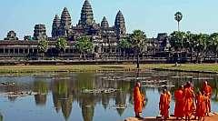 Cambogia e' Angkor Wat il più grande sito archeologico religioso al mo