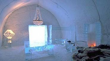 """""""Wild ice"""" nella Lapponia Svedese in hotel di ghiaccio da € 1499 a pax"""