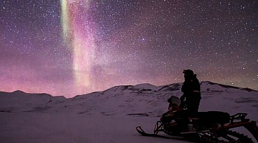 Capo Nord con la neve: un viaggio indimenticabile nell'estremo nord! solo colazione