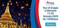 Viaggi in Birmania 17-26 Gennaio 2020 – 10 Giorni da 1130 euro/pax