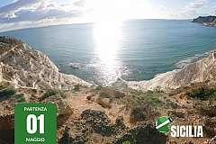 Viaggio in moto in Sicilia di 10 giorni + trasferimento nave incluso