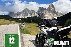 Dolomiti Marathon: 7 giorni in moto alla scoperta delle Alpi da €1299
