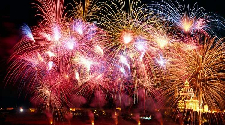 Speciale: 19° Festival Internazionale di Fuochi d'Artificio a Malta!!