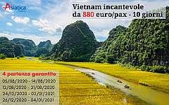 Tour di gruppo in Vietnam incantevole 10 giorni da 880 euro/pax