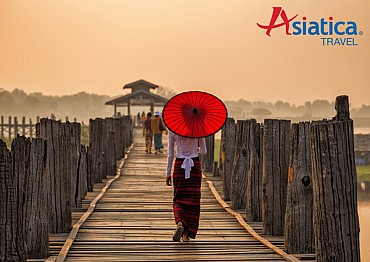Asiatica Travel -Meraviglie della Birmania 10 giorni da 1.185 euro/pax