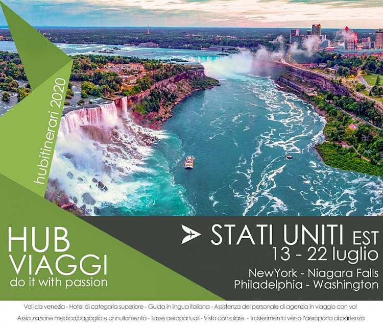 STATI UNITI EST: New York  Washington Philadelphia  Niagara Falls