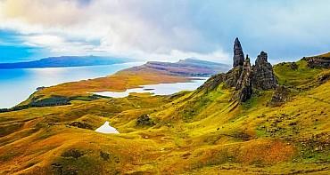 Tour organizzato di Edimburgo, Skye, Highlands e della Scozia mezza pensione