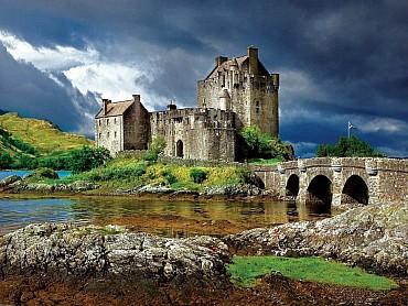Tour classico della Scozia con auto a noleggio (fly & drive) solo colazione