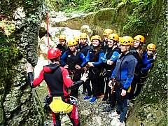 Slovenia - Vacanze avventura nel Canyoning più bello in Europa.