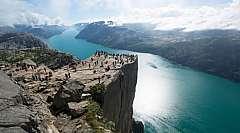 Splendore dei Fiordi: Tour di gruppo in ITALIANO da € 1045,00 pp