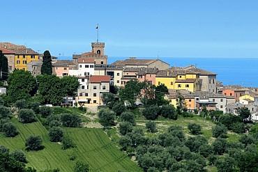 Mondolfo, il bellissimo balcone delle Marche sull'Adriatico