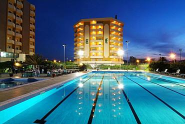 Hotel GEH***soggiorno mare Abruzzo,  lungomare a Montesilvano Lido solo colazione