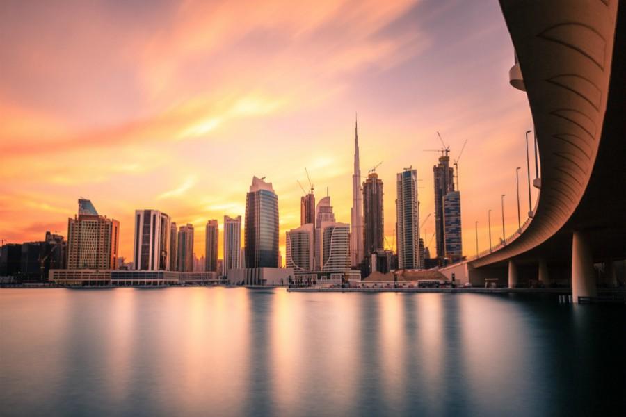 Dubai_di_sera