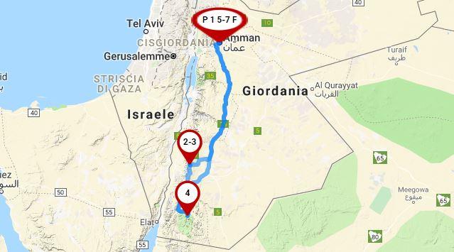 itinerario_giordania