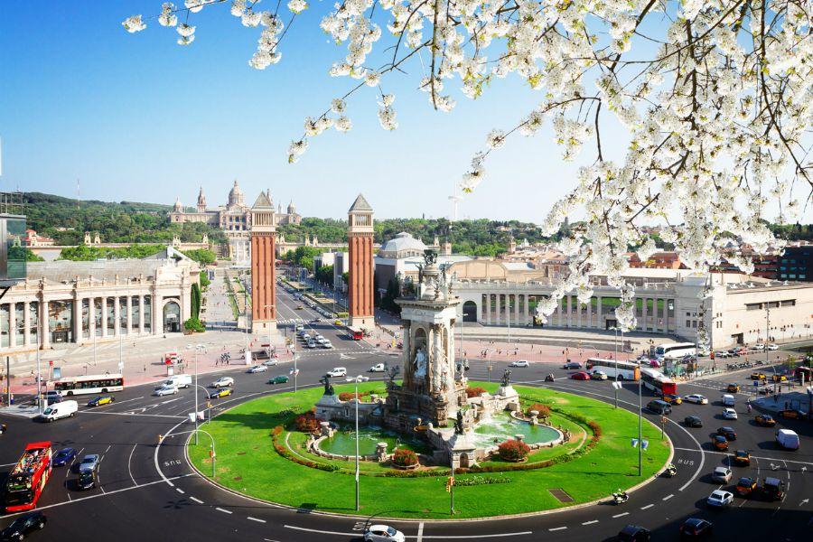 Barcellona a Primavera