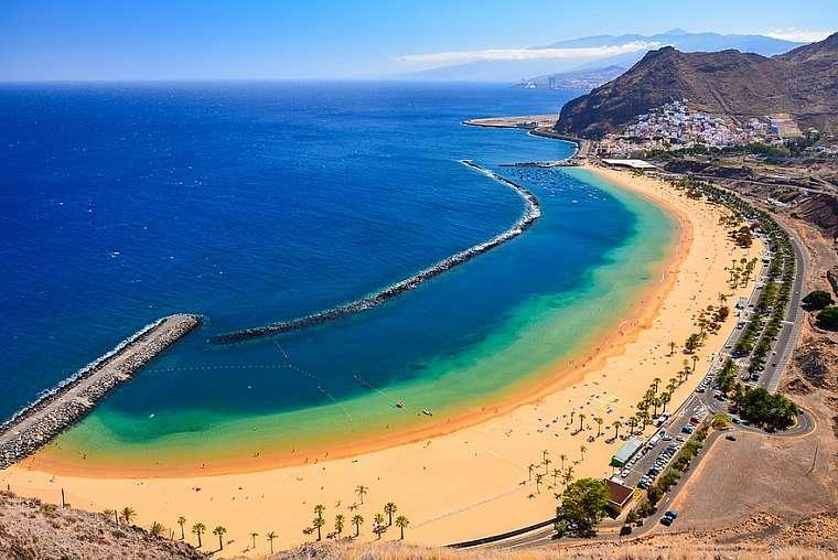 spiagge più belle di Tenerife